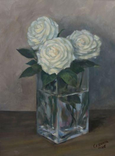 Rosas blancas F6